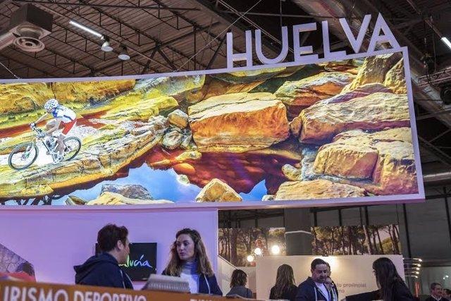 Estand de Huelva en Fitur 2016.