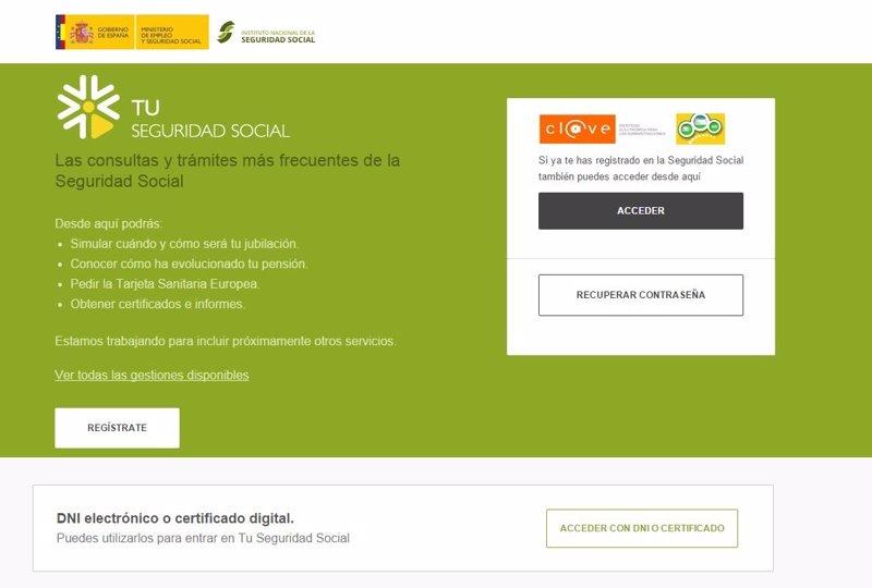 Ya Puedes Inscribir A Tu Hijo En La Seguridad Social Por Internet