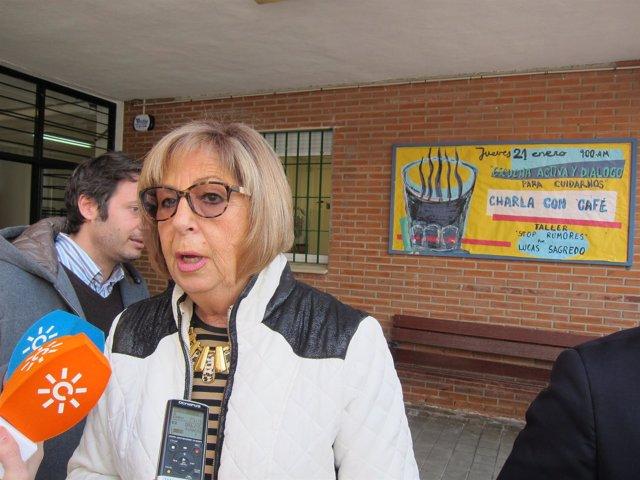 La consejera de Educación, Adelaida de la Calle.
