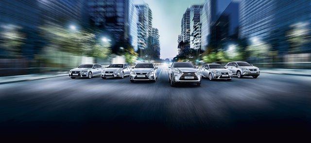 Gama de híbridos de Lexus