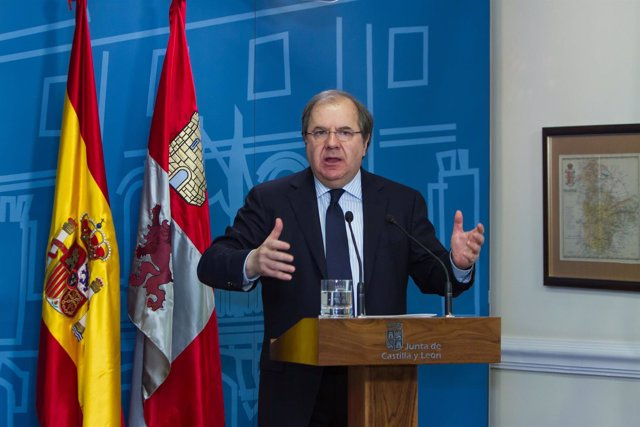 Juan Vicente Herrera ante altos cargos