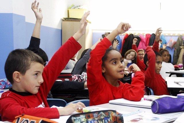Escolares de Mislata (Valencia)