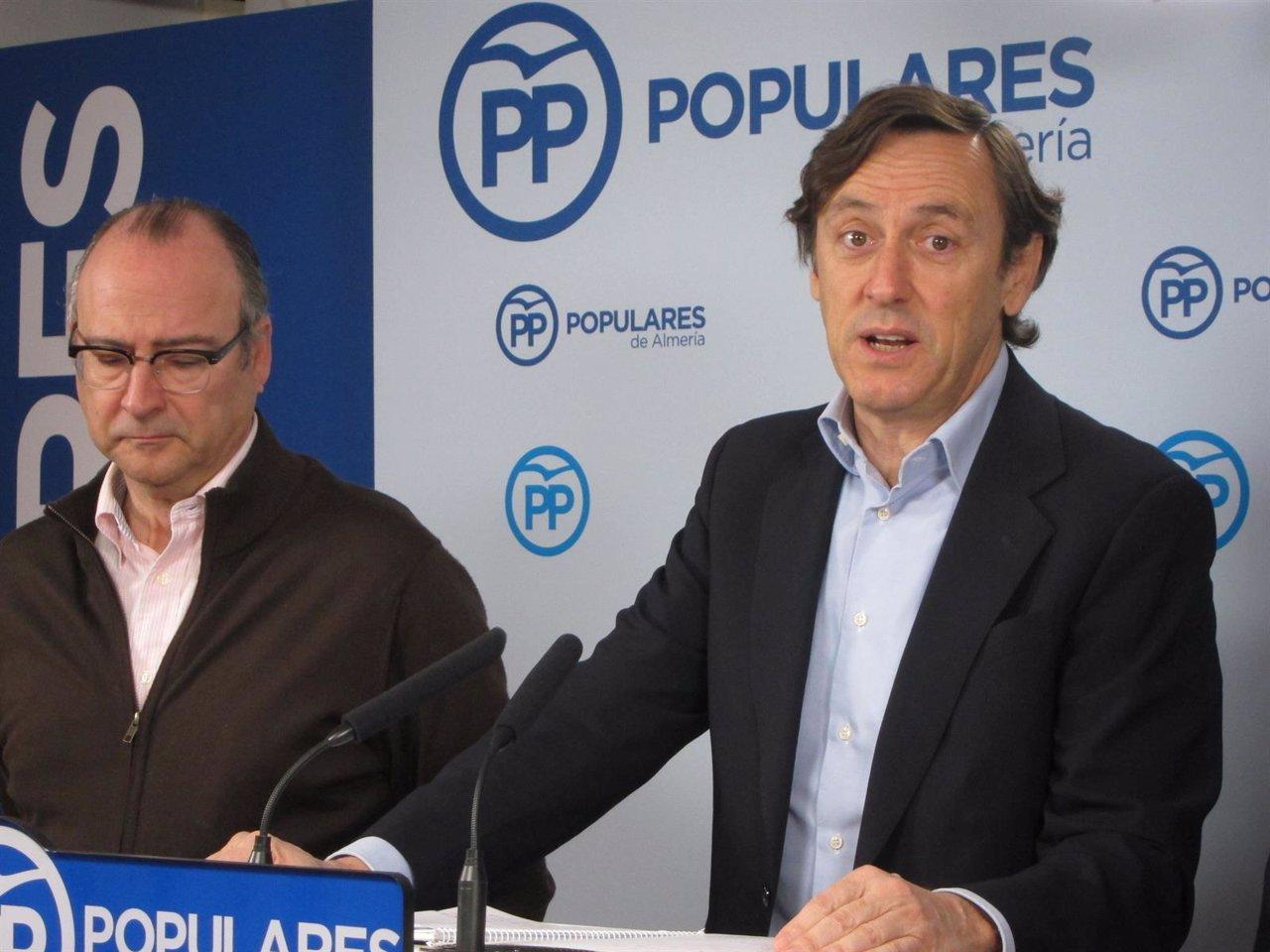 Luis Rogelio Rodríguez-Comendador y Rafael Hernando