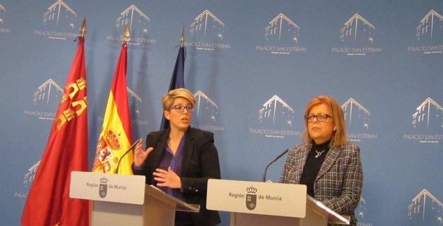 Noelia Arroyo y María Isabel Sánchez Mora