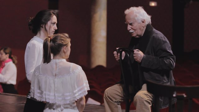 Anaís Berdié presenta en Zaragoza el documental 'El último maestro ruso'