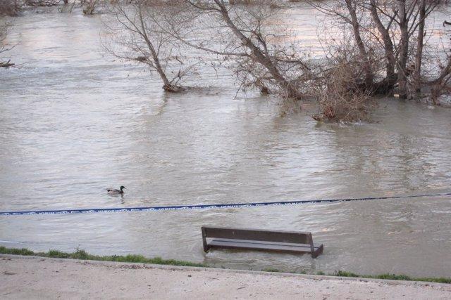 Inundación rio Ebro
