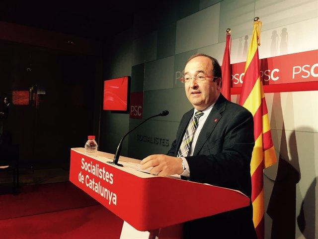 El líder del PSC, Miquel Iceta (Archivo)