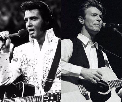 Elvis Presley quiso colaborar con David Bowie en 1977