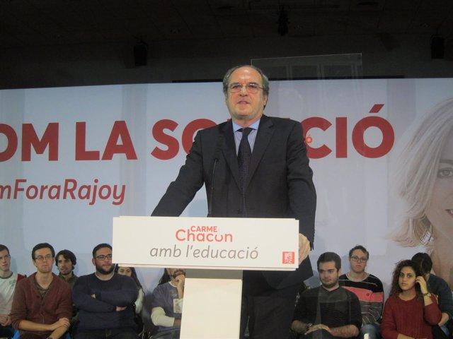 Ángel Gabilondo (PSOE)
