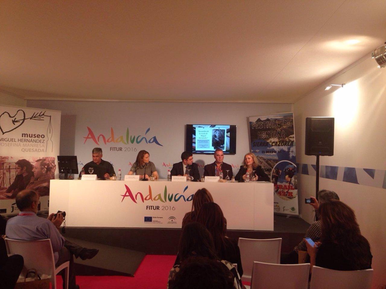 Presentación de los actos del centenario de Manresa y Rodríguez Aguilera.