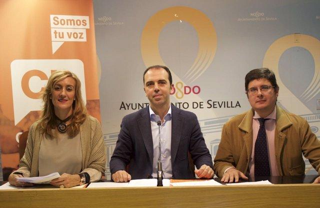 Miembros de C's Sevilla