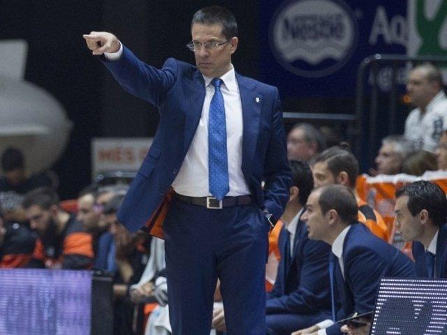 Pedro Martínez, entrenador del Valencia Basket