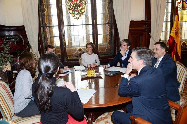 Reunión con la ministra de Medio Ambiente