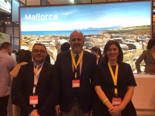 Representación del Consell de Mallorca en Fitur