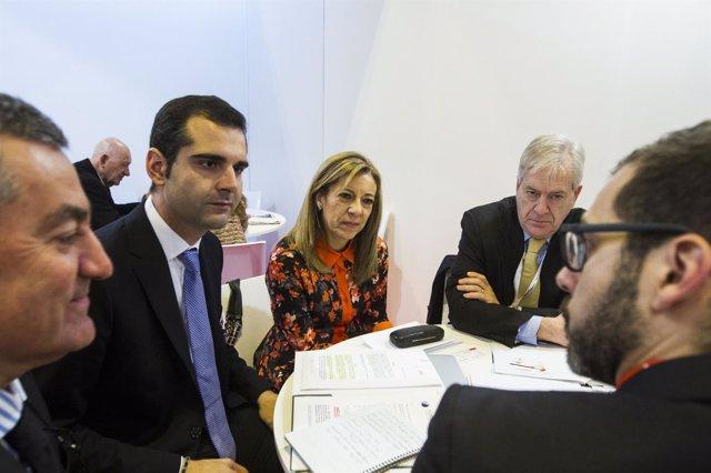 El alcalde de Almería, Ramón Fernández-Pacheco, en Fitur