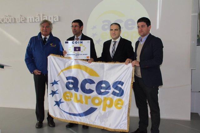 Coín presenta su candidatura a Villa Europea del Deporte 2017
