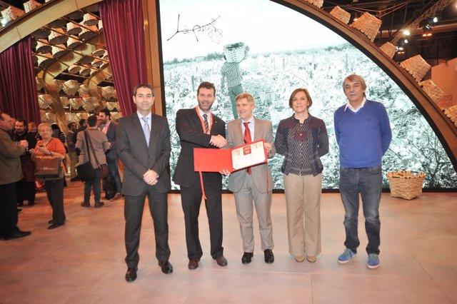 Stand de La Rioja en Fitur que ha recibido el premio institucional