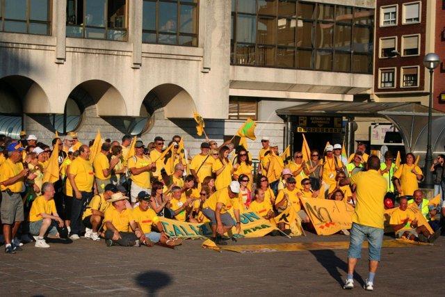 Protesta de AMA contra los derribos