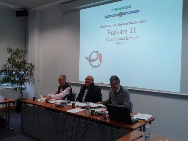 Comisión Euskara 21