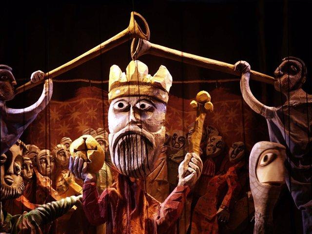 Ópera de marionetas 'El retablo de Maese Pedro' en el Teatro Real