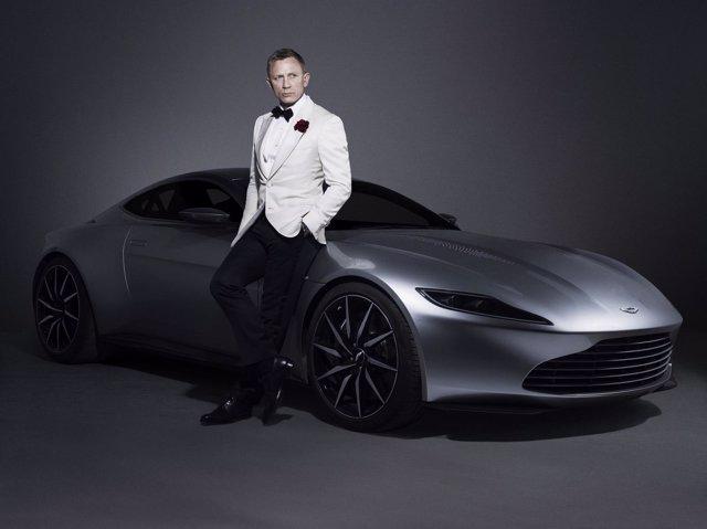 Aston Martin DB10 para la película Spectre de James Bond