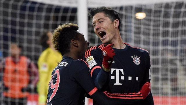 El Bayern retoma la Bundesliga con victoria sobre el Hamburgo