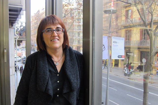 La nueva presidenta de la Associació d'Editors en Llengua Catalana, Montse Ayats