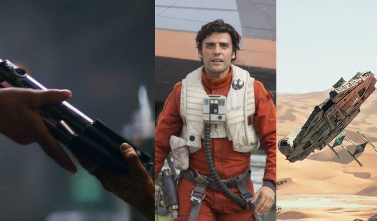 Fotogramas de Star Wars VII