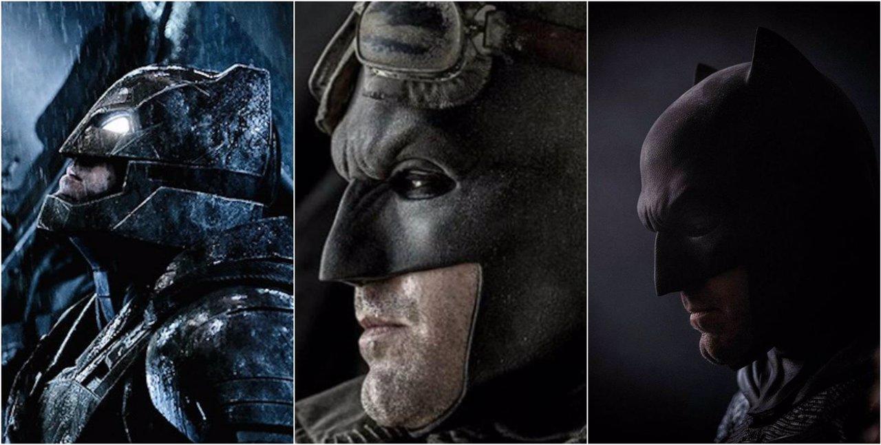 Los tres trajes lucidos por Ben Affleck en Batman v Superman