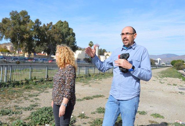 Málaga para la gente iu eduardo zorrilla guadalmedina via ciclista