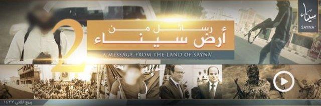 Vídeo de Provincia del Sianí, filial de Estado Islámico