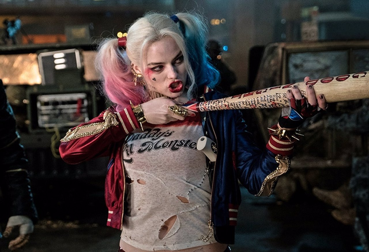 Margot Robbie es Harley Quinn en Suicide Squad