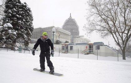 Las impresionantes imágenes que ha dejado la gran tormenta de nieve en Nueva York