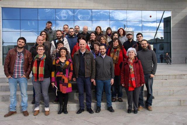 Consejo Ciudadano Andaluz de Podemos, reunido en Atarfe (Granada)