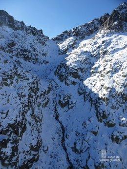 Rescate en el Pico Almanzor, en Gredos