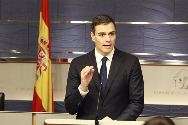 Rueda de prensa de Pedro Sánchez en el Congreso