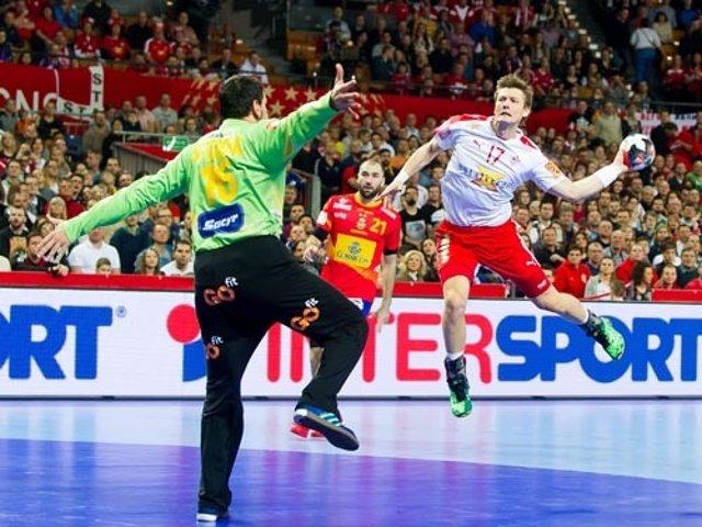 España - Dinamarca, Europeo de balonmano