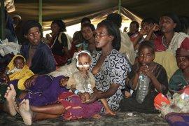 La sequía de Etiopía pone en grave peligro a los recién nacidos y a sus madres