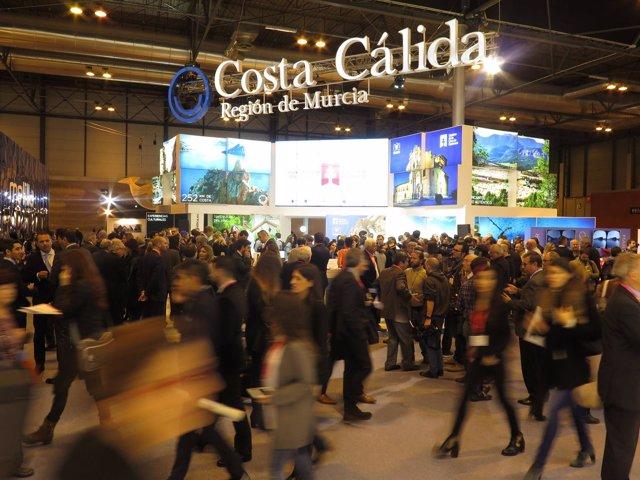 Imagen del stand de la Región de Murcia en FITUR