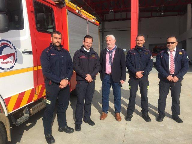 El Consorcio reconoce la labor de los bomberos desplazados a Lesbos.