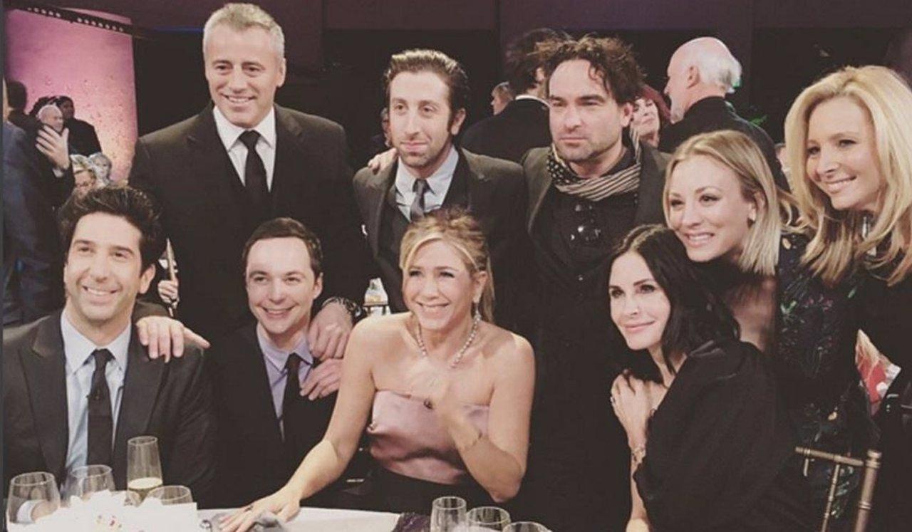 Primera imagen de la reunión de Friends