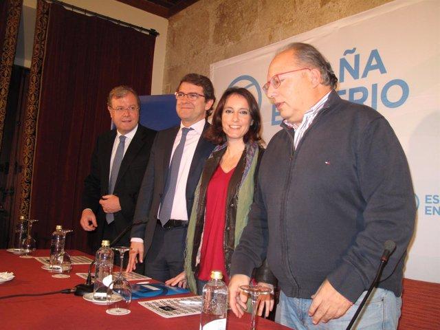 Andrea Levy En La Junta Provincial Del PP De León