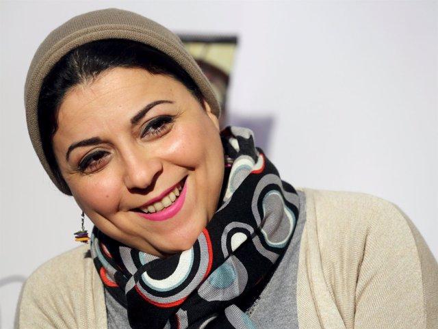 La activista egipcia Israa Abdel Fattah, fundadora del movimiento 6 de abril