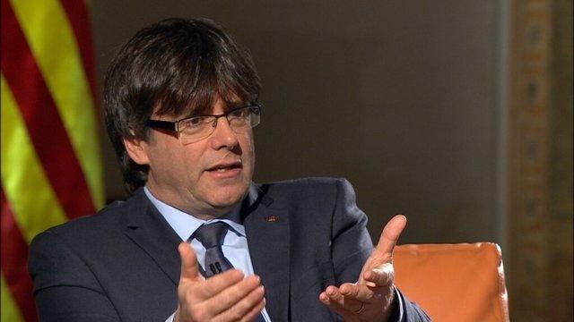 El nuevo presidente de la Generalitat, Carles Puigdemont