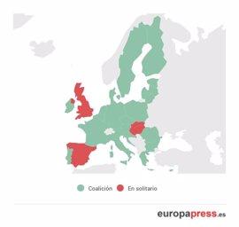 Así son los gobiernos de coalición de otros países de Europa
