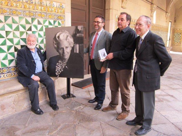 J.Ros (IEC) Emili Rosales, Joan Cornudella (Grup 62) Josep Massot(Fund.Rodoreda)