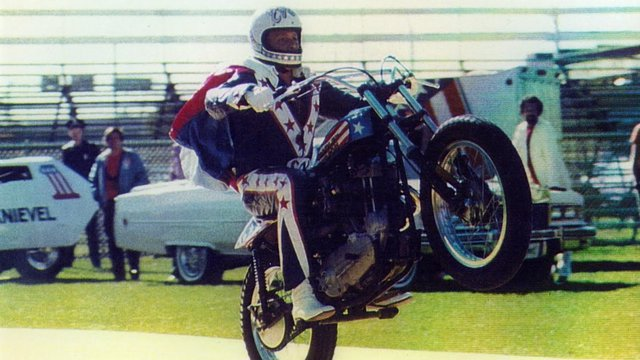Evel Knievel en Discovery Channel
