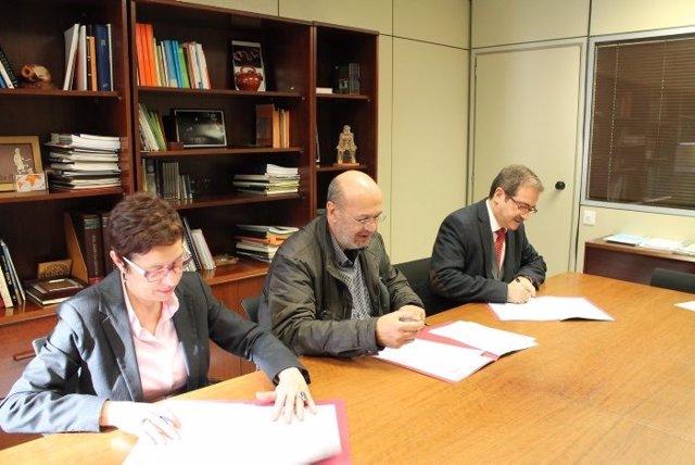 Firma del convenio del Govern y CC.OO. Para acreditar competencias profesionales