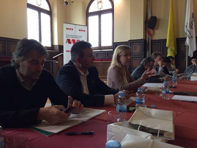 Neus Lloveras, alcaldesa de Vilanova i la Geltrú (Barcelona), CDC