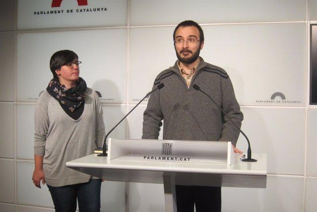 Mireia Boya y Albert Botran (CUP)